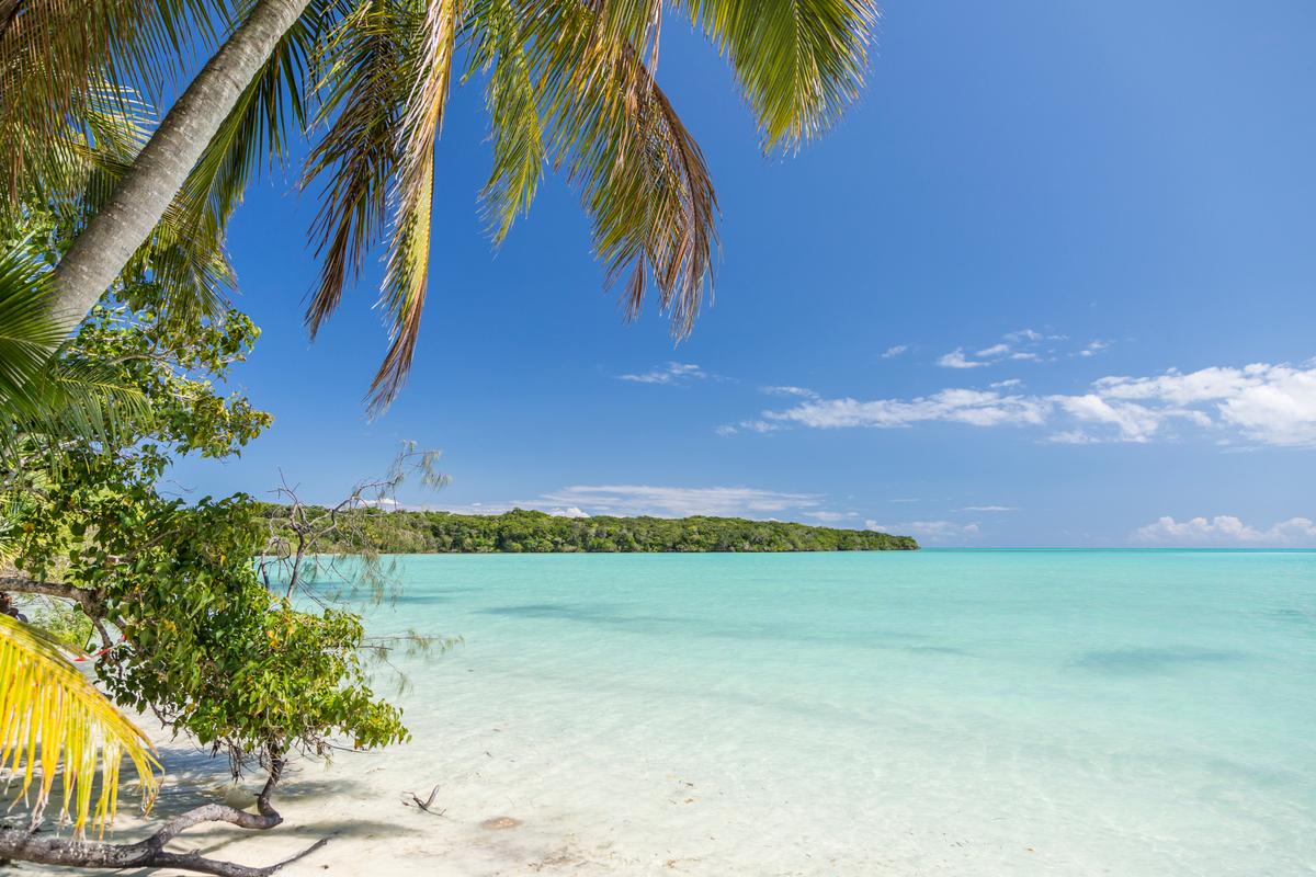 Nouvelle Calédonie Baie de Kanumera