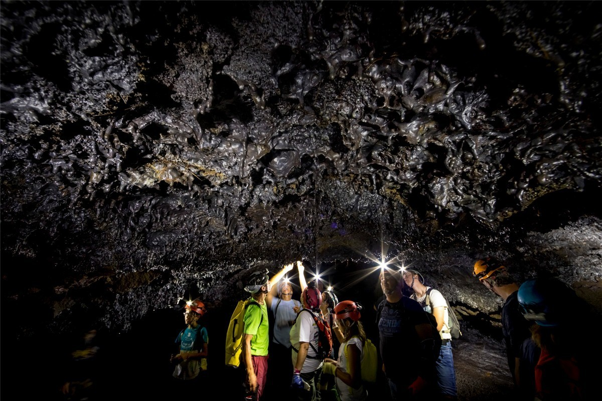 Tunnel de lave - Piton de la Fournaise