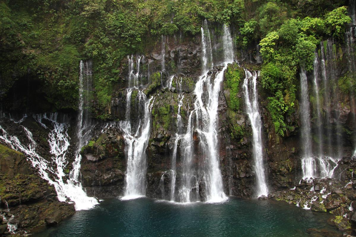 Cascade Langevin La Réunion - E.VIRIN