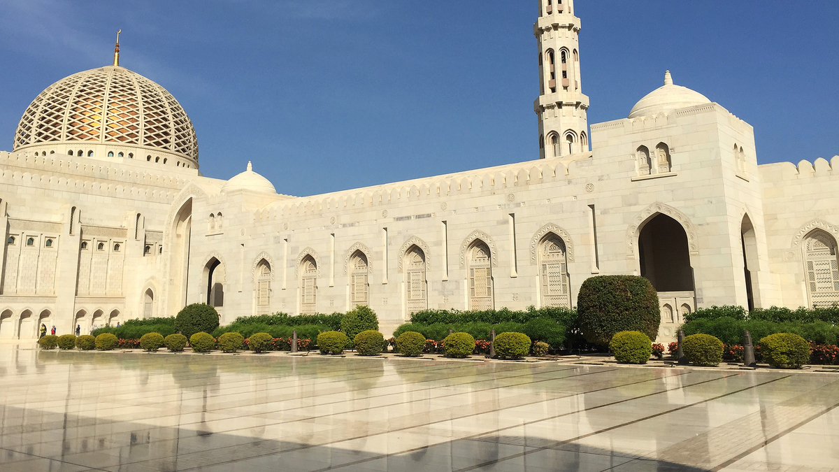 La Grande Mosquee de Mascate