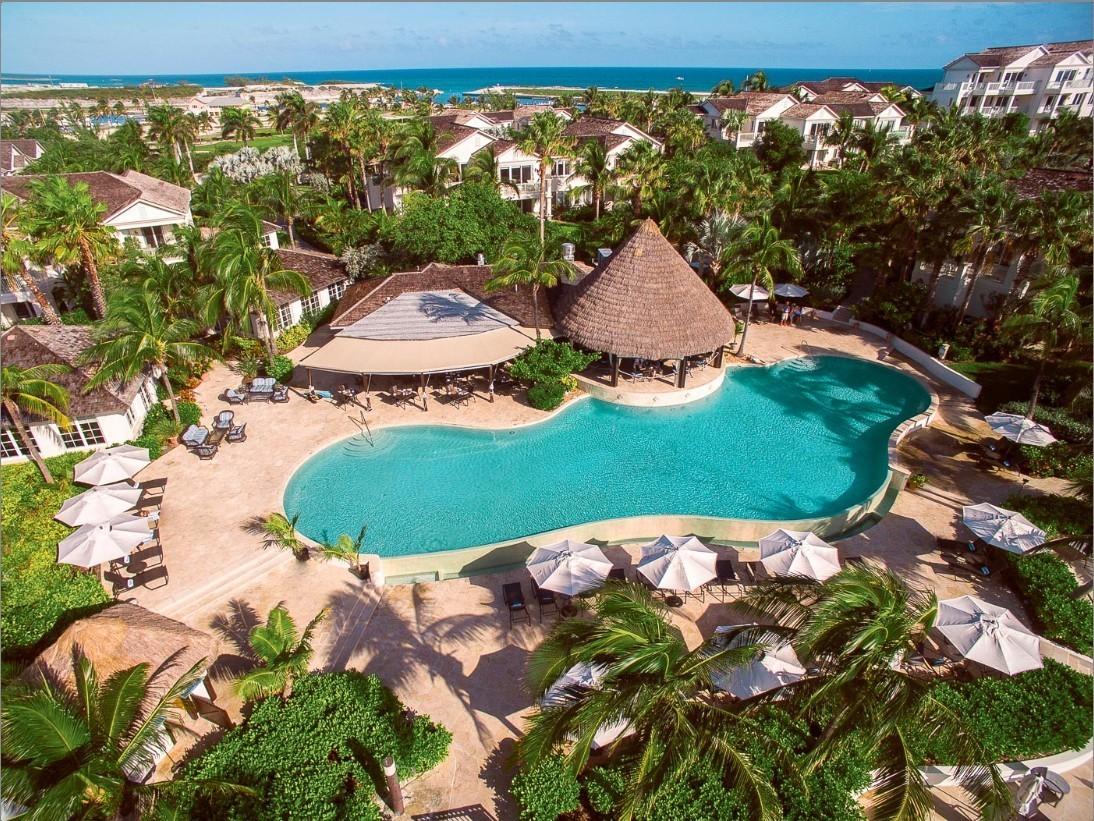 Piscine vue aérienne - Grand Isle Resort