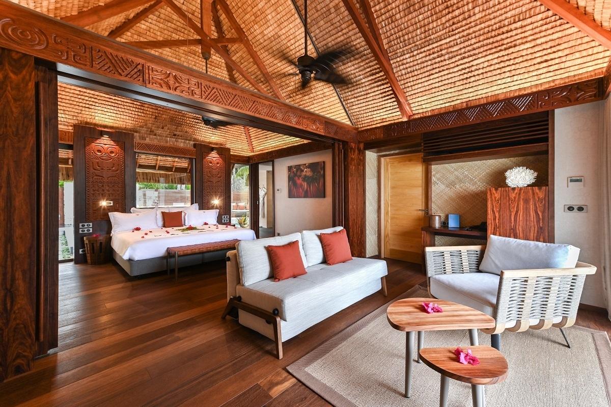 Beach Pool Villa Living Room